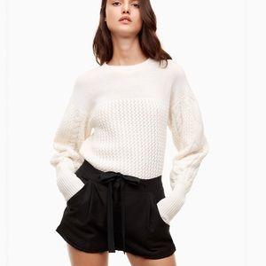 • Wilfred Aritzia • Allegra Linen Blend Shorts 0